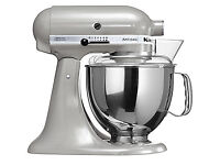 KitchenAid Artisan 5KSM150PSBAC 4.8 L Metallic Chrome Stand Mixer