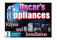 Oscar's Appliances Repair and installation. Honesty, reliability