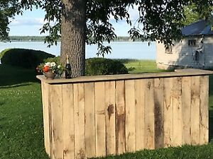 Rustic Bar for Sale - $100