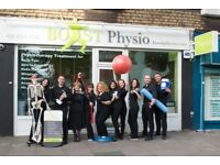 Part-Time Receptionist / Administrator for Private Physiotherapy Clinic in East Finchley