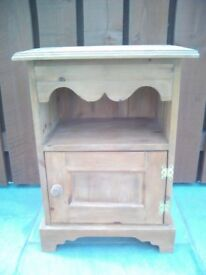 Bedside Cabinet (solid wood throughout)