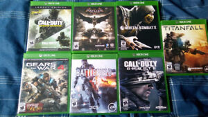 Xbox One Games for Sale ($150 for all)