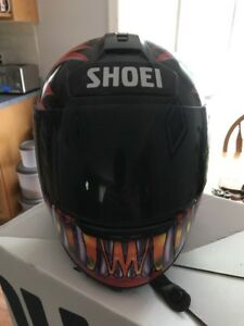 Shoei Motorcycle Helmet & Rocket boots