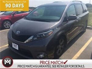 2015 Toyota Sienna SE,LEATHER,SUNROOF,HEATED SEATS GET INTO THIS