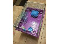 Small Guinea pig/hamster cage