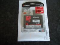 Kingston solid state 240 GB hard drive Brand new still in original packaging
