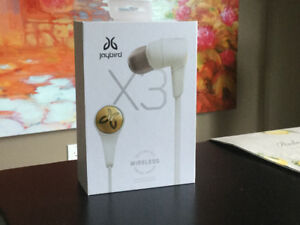 Jay bird X3 Wireless Ear Buds....New White