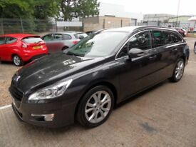 PEUGEOT 508 2.0 HDI SW ACTIVE NAVIGATION VERSION 5d 140 BHP (grey) 2013