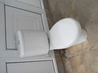 Roca Closed Coupled Toilet WC Push Button Cistern and seat