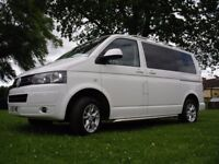 VW T5 . 1, 2010, 2.0LTR TDI, EURO 5 LOW TAX, DAY/CAMPERVAN, HPI CLEAR, MAY P/EX