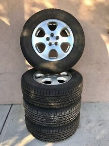 (4) 205-70-R15 95T Yokohama Avid TR2 On Rims
