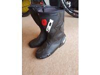 Sidi fusion bike boots Size 8