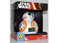 Star Wars BB-8 Alarm Clock Brand New