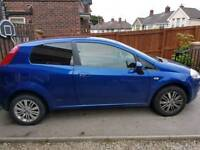 Fiat grand punto 56 plate 47000 auto .spares or repairs suspected actuator