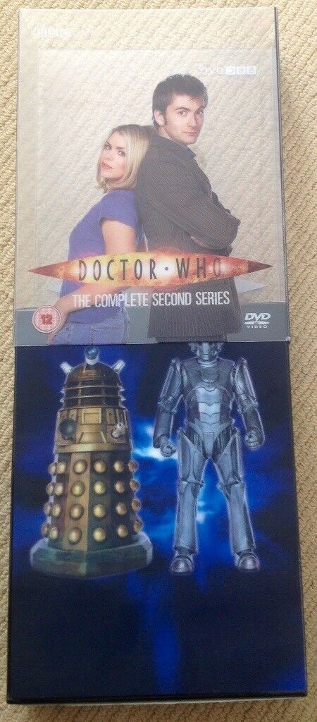 DVD. BBC Doctor Who The Complete Second Series with episode guide. Dr Who
