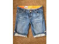 Women's Denim Shorts Size 8