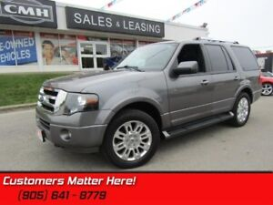 2011 Ford Expedition Limited  NAVIGATION, 8-PASSENGER, SUNROOF,