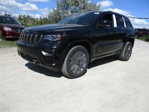 2017 Jeep Grand Cherokee Limited - 4x4, 3.6L V6 **DEMO**