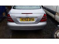 Mercedes-Benz e220 cdi automatic 2004 w211. seats doors mirrors abs pump ecu set alloy wheels