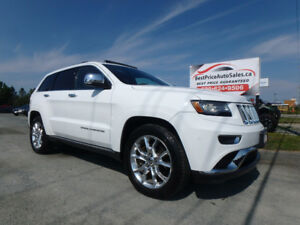2014 Jeep Grand Cherokee Summit HEMI! CERTIFIED!