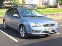2007 FORD FOCUS 2.0 PETROL GHIA * HEATED LEATHER * 1 OWNER * F.S.H * DELIVERY * PART EX *