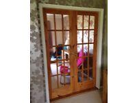 Internal Pine Doors (15 panel Glazed)