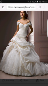 Maggie sottero wedding dress diamond white