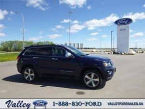 IMPRESSIVE LIKE NEW CONDITION! 2015 Jeep Grand Cherokee Limited