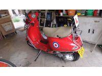 Piaggio 125cc LX Scooter