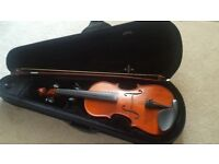Beautiful violin with case