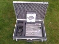 Korg D888 Digital Multi Channel Recorder with Manual and Professional Flightcase