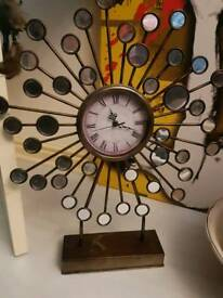 Art decor clock