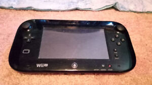 Wii U with 8 games, two controllers.