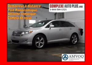 2011 Toyota Venza AWD Touring V6 *Cuir/Toit pano. /4x4