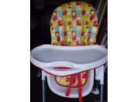 Mothercare Arc highchair