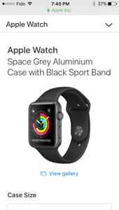 Brand New 42mm Series 1 Apple Watch