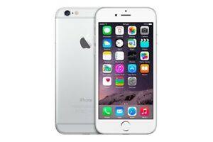 64 GB IPHONE 6 SILVER - LOCKED TO ROGERS BUT CAN BE UNLOCKED