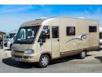 Dethleffs Advantage Elegance i6611, 31500 Miles, 2007, 4 Berth, A-Class, Loaded with Extras