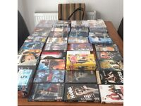 Over 50 dvds