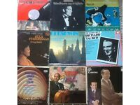 9 MUSICAL VINYL LP. ( MIXED. P&P £ 3.50 ONLY IN UK. ( USED