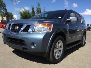 2012 Nissan Armada PLATINUM 4X4 Navigation (GPS),  Leather,  Hea