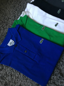 12 Polo LACOSTE taille 2