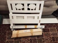 Ikea Child's Bed- Like New. 70x160 cm. Price includes additional bed items.