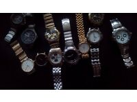 Job Lot Eleven Watches