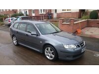 2007 Saab 9-3 Estate Vector Sport. 12 Months MOT. Part service history. But well maintained