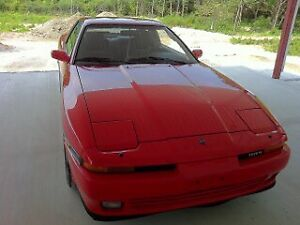 Low km Clean 1989 Toyota Supra (Red)