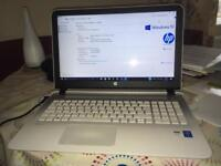 HP Pavilion White 64bit processor and 8Gbz memory Laptop