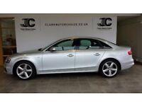 Audi A4 TDI QUATTRO S LINE (silver) 2014-01-01