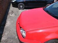 VW Golf N/S Front Wing In Red (2000)