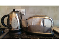 Hinari Stainless Steel Kettle and Toaster